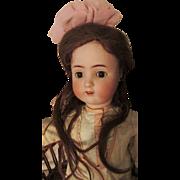 """FLASH FIRE SALE Big 29"""" Beautiful Alt Beck Gottschalk ABG 1362 Sweet Nell Antique Bisque Head Doll TLC"""