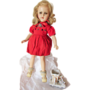 "Madame Alexander 14"" Composition Sonja Henie Portrait Doll"
