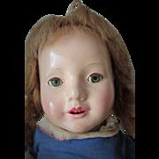 Scarce Effanbee Composition Dewees Cochran American Children Doll Barbara Anne TLC
