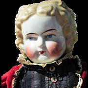 Antique Bawo & Dotter China Head Doll