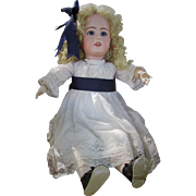 Stunning Large Rare 959 Simon Halbig Antique Bisque Doll for the French Trade