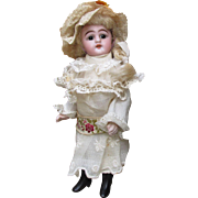 Antique German All-Bisque Mignonette, Model 886, by Simon and Halbig