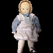 Vintage Polly Heckewelder Moravian Doll
