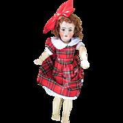 Antique Handwerck Halbig Bisque Head Doll Pierced Ears TLC Project