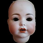 Huge Antique Simon Halbig Bisque Character Doll Head 1294 TLC