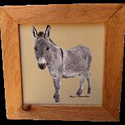 Donkey Print by Artist Printer Sherri Alexander