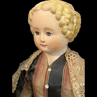 Huge Antique Muller and Strasburger M & S Superior Lady Doll