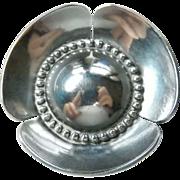 Georg Jensen USA Sterling Silver Flower Brooch