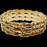 18k Gold Bracelet Articulated