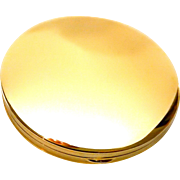 50% OFF 14k Gold Compact Clean Modern Design Loose Powder