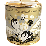 1940's Lentheric Three Silent Messengers Parfum in Original Box Parfum Perfume