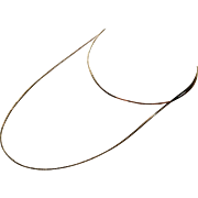 Sterling Vermeil Necklace 29 1/2""