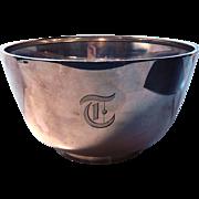 Redlich Large Sterling Silver Fruit Bowl 1lb 14.7 oz