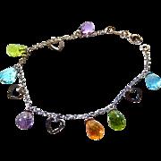18k Le Gi Bracelet semi precious gemstones