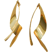 14k Earring Enhancers Dangle Earrings