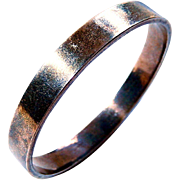 Danish Modern Sterling Bangle Bracelet 925