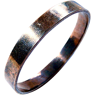 Danish Modern Sterling Bangle Bracelet 925