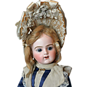 Antique Bébé Bru Jne R 9 in original costume