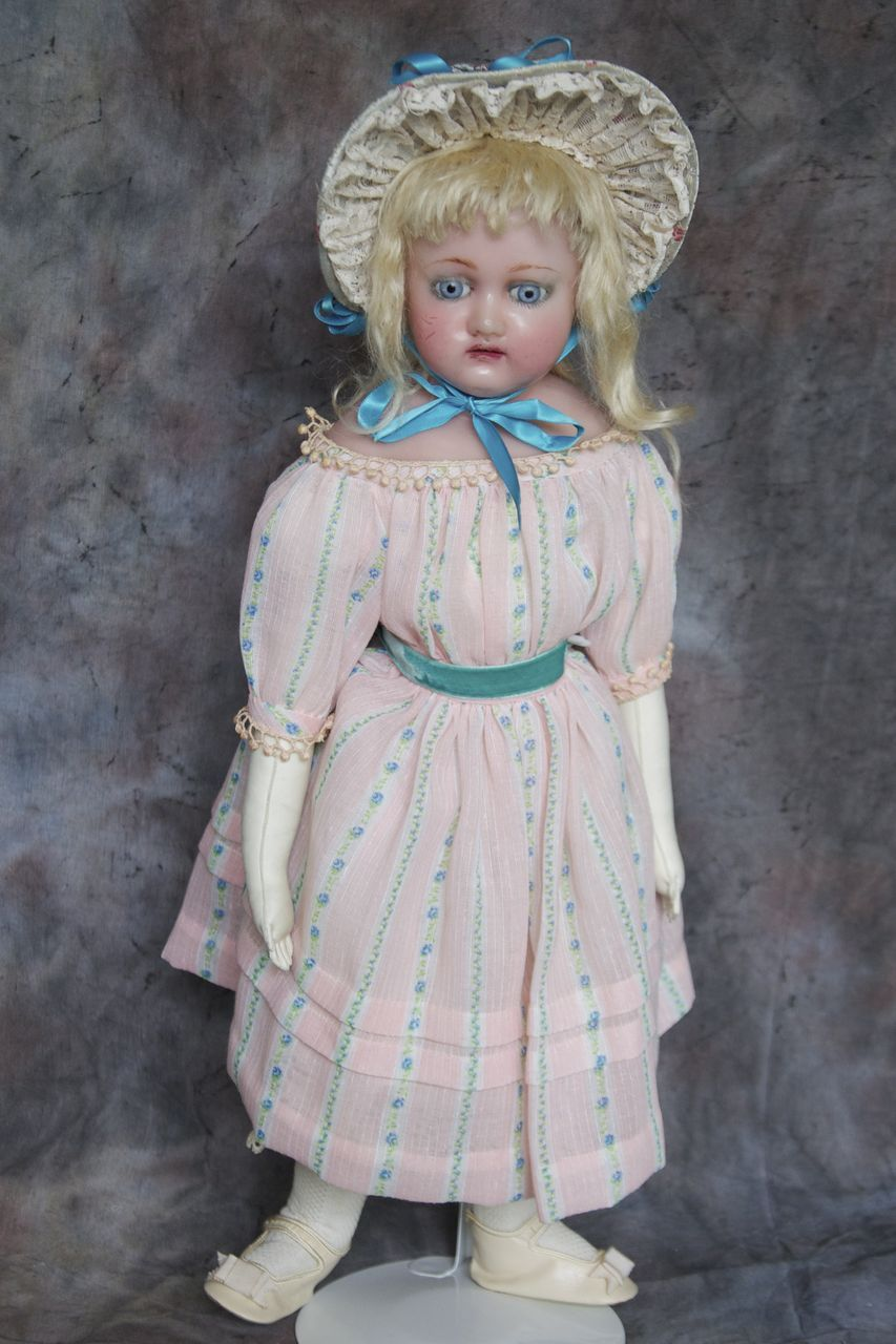 Antique Wax doll with provenance from terristreasures on ...