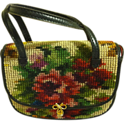 Koret of California Tapestry/Needlepoint Purse