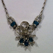 Crown Trifari Alfred Philippe Designed Necklace - Signed
