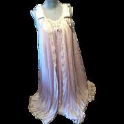 LUCIE ANN Lavender Peignoir Set