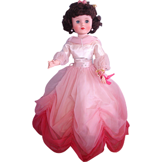 Sweet Sue Sophisticate by American Character - Vinyl Vintage Doll in Ballgown - MINT- Circa 1958