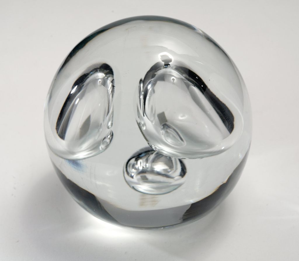 Vintage 1970's Italian Art Glass Sculpture