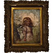 19th Century Tyrolean Child Portrait