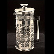 Rare Memphis Design Era Boden coffee maker designed by George J. Sowden