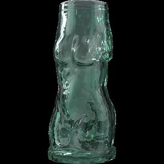 Rare Steven Lundberg Figurative Glass Vase, Circa Late 20th Century