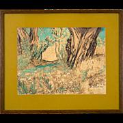 Mid-Century Painting by Dorr Hodgson Bothwell, 1964