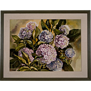 Mid Century Watercolor by Gladys Gray (b.1908), Listed Artist