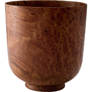 Redwood Burl Turned Wood Bowl by Jerry Kermode