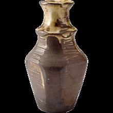 California Studio Ceramic Vase, Signed, Circa 1970's