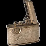 Vintage 1940s German Regeliter Automatic Push button Lighter