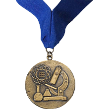 Vintage 1960's Bronze Student Science Award