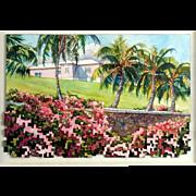 Douglas Fenn Wilson Watercolor Assemblage