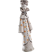 Mid Century Vera Lllapola Bropa of Milano, Italian Porcelain Figurine