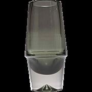 Erkki Vesanto (1900-1990) Designed Glass Vase,  Lappi-Sarja Series.