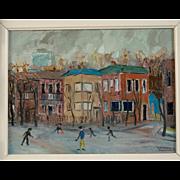 "Alexander Kwartler ""Old Montreal"", circa 1973"