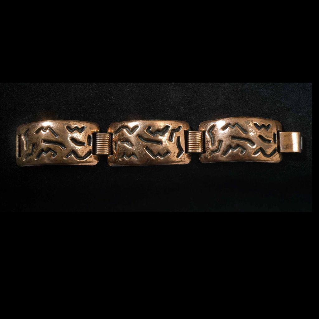 Vintage 1950's Copper Bracelet