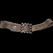 Chic Vintage Designer Mesh Woven Belt.