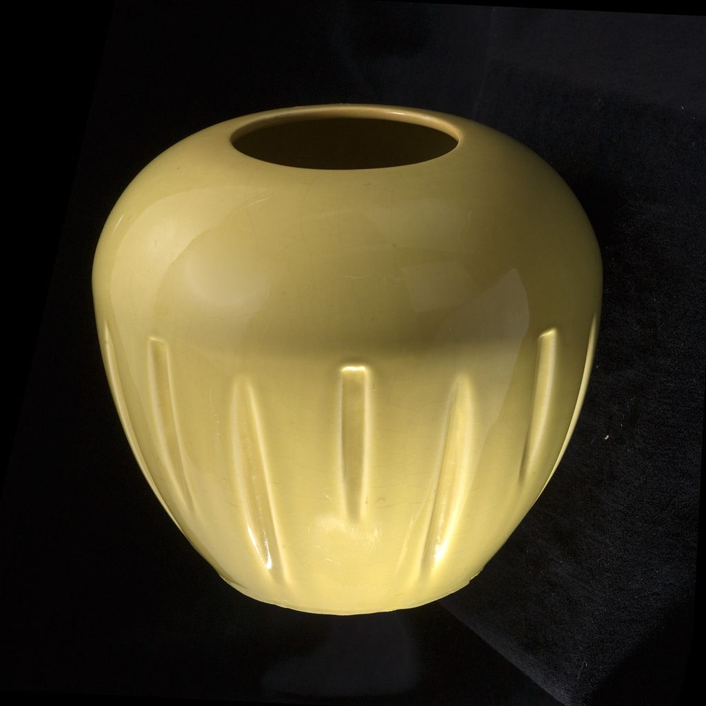 "Large Deco ""Made in Calif"" Vase"