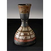 Vintage Mid-Century Georgian (Soviet period) Russian Modernist Ceramic Vase