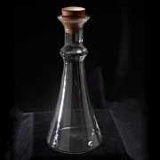 Vintage Dansk Glass Decanter by Gunnar Cyren