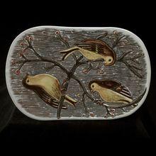 Edgar Bockman bowl, LaHolm Sweden . Circa 1950'-1960's.