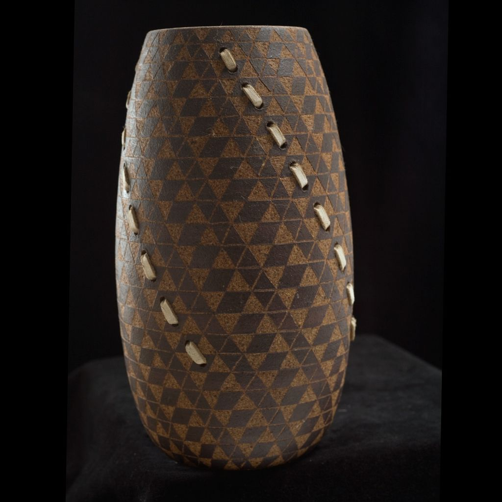 Larry Richmond Stoneware Vase
