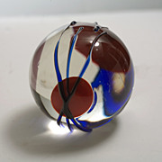 Cameo Studio Art Glass Paperweight