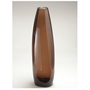 Vintage Torpedo Glass Vase